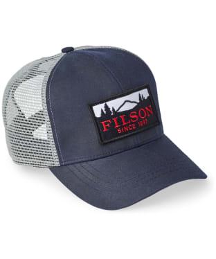 Men's Filson Mesh Logger Cap - Navy