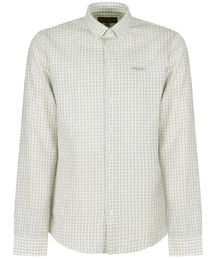Men's Musto Lightweight Long Sleeve Gingham Shirt - Reed Grey Gingham