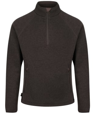 Men's Musto Super Warm Polartec® Windjammer ½ Zip Fleece - Liquorice