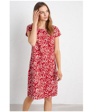 Women's Seasalt River Cove Dress - Painterly Leaf Rudder