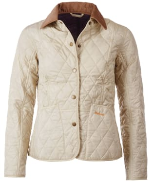 Women's Barbour Summer Liddesdale Quilted Jacket - Pearl