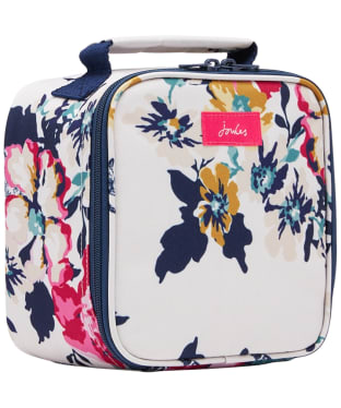 Joules Picnic Lunch Bag - Cream Anniversary Floral