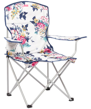 Joules Foldable Picnic Chair - Cream Anniversary Floral
