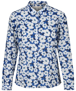 Women's Seasalt Larissa Shirt - Mallow Flower Cargo