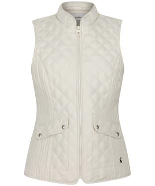 Women's Joules Minx Gilet - Winter White