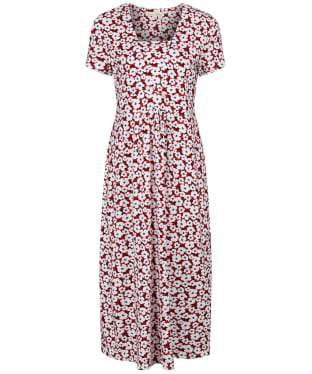 Women's Seasalt S/S Seed Packet Dress - Mallow Flower Rudder