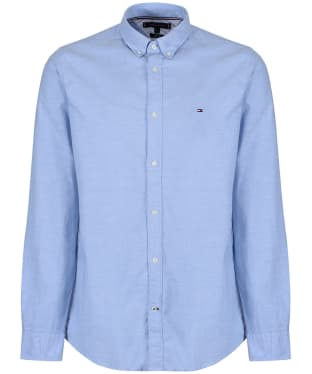 Men's Tommy Hilfiger Slim Fit Oxford Shirt - Shirt Blue