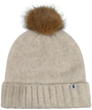 Women's Joules Snugwell Heavyweight Boucle Hat - Cream