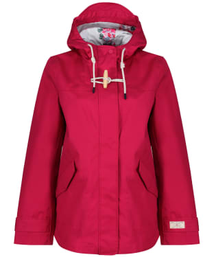 Women's Joules Coast Waterproof Jacket - Berry