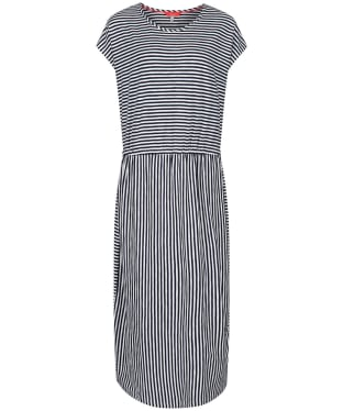 Women's Joules Alma Dress - Cream / Navy Stripe