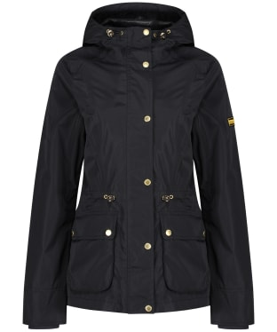 Women's Barbour International Biltwell Waterproof Jacket - Black