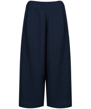 Women's Lily & Me Chamomile Cropped Trousers - Navy