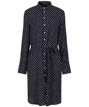 Women's GANT Desert Jewel Print Shirt Dress - Evening Blue