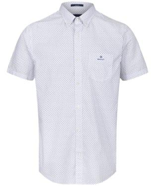 Men's GANT BC Print Shirt - White