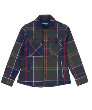 Boy's Barbour Tartan Overshirt, 6-9yrs - Classic Tartan