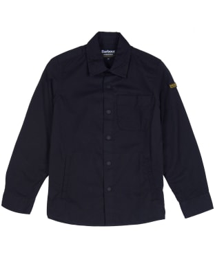 Boy's Barbour International Tech Overshirt, 10-14yrs - Black