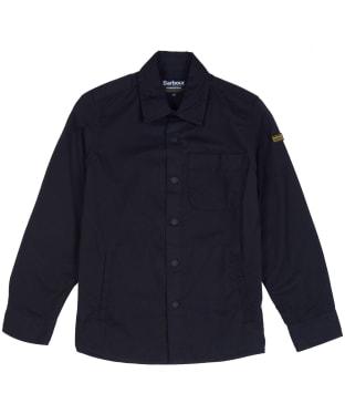 Boy's Barbour International Tech Overshirt, 6-9yrs - Black