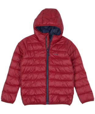 Boy's Barbour Trawl Quilted Jacket, 10-15yrs - Crimson