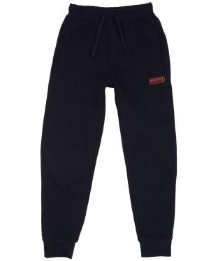 Boy's Barbour International Track Pants, 6-9yrs - Black