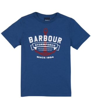 Boy's Barbour Bowline T-shirt, 10-15yrs - Dark Denim