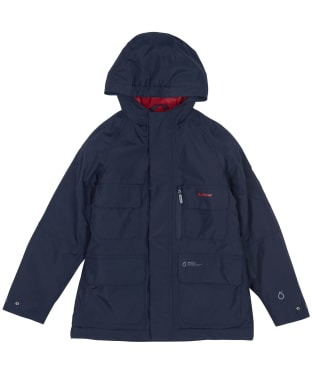 Boy's Barbour Deptford Waterproof Jacket, 6-9yrs - Navy