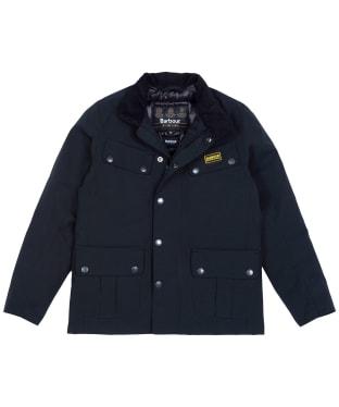 Boy's Barbour International Duke Waterproof Jacket, 10-15yrs - Black
