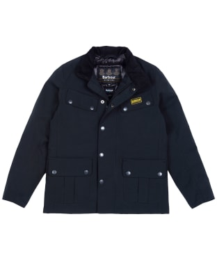 Boy's Barbour International Duke Waterproof Jacket, 6-9yrs - Black
