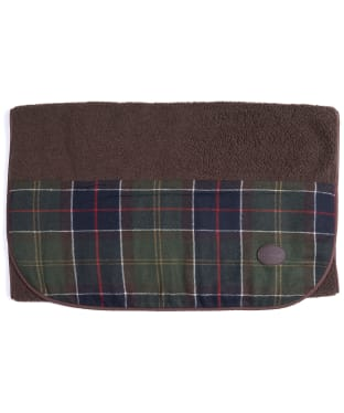 Barbour Wool Touch Fleece Dog Blanket - Classic Tartan