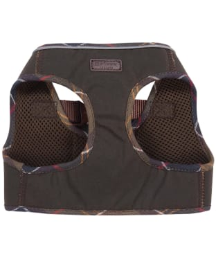 Barbour Wax Step in Dog Harness - Olive