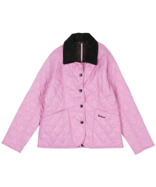 Girls Barbour Summer Liddesdale Quilted Jacket, 10-15yrs - Moonlight Pink