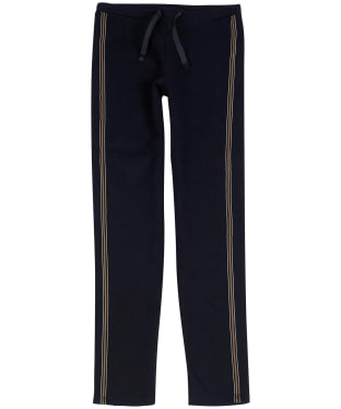Girl's Barbour International Track Pants, 10-15yrs - Black / Gold