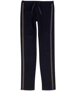 Girl's Barbour International Track Pants, 6-9yrs - Black / Gold