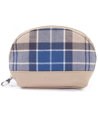 Women's Barbour Tartan Small Makeup Bag - Tempest Trench Tartan