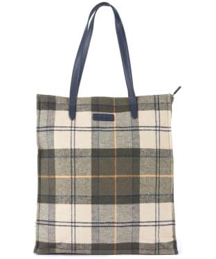 Women's Barbour Tain Tartan Shopper Bag - Ancient Tartan
