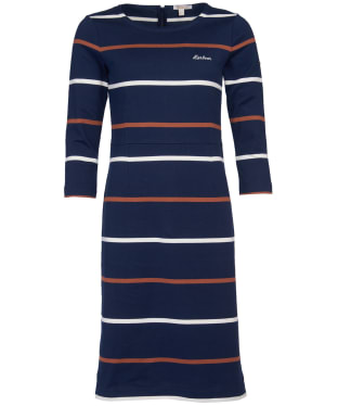 Women's Barbour Oyster Dress - Navy
