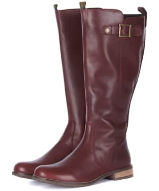 Women's Barbour Rebecca Boots - Bordeaux