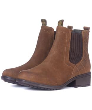 Women's Barbour Rimini Chelsea Boots - New Brown Suede