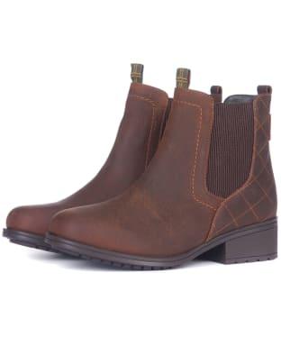 Women's Barbour Rimini Chelsea Boots - Teak