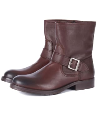 Women's Barbour International Baja Boots - Brown