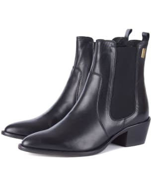 Women's Barbour International Zara Chelsea Boots - Black
