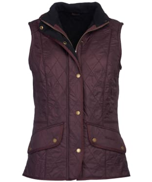 Women's Barbour Cavalry Gilet - Winter Blackberry