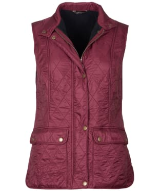Women's Barbour Wray Gilet - Garnet