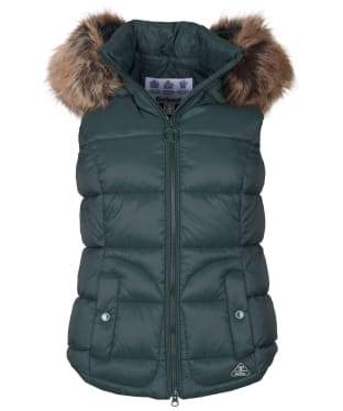 Women's Barbour Dover Gilet - Isle Green