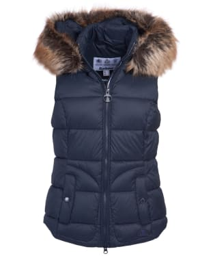 Women's Barbour Dover Gilet - Dark Navy