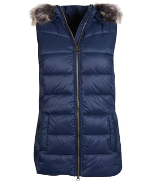 Women's Barbour Irving Gilet - Navy