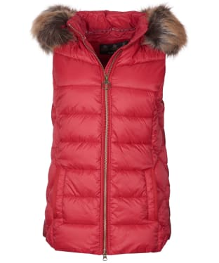 Women's Barbour Irving Gilet - Claret