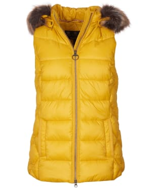 Women's Barbour Irving Gilet - Golden Yellow