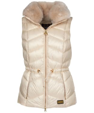Women's Barbour International Halfback Quilted Gilet - Calico