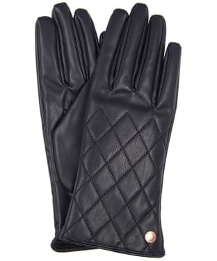 Women's Barbour International Cadwell Gloves - Black