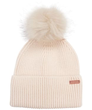 Women's Barbour International Mallory Pom Beanie - Calico